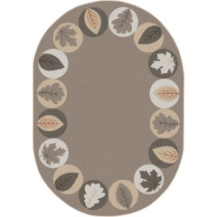 Joy Carpet - Lively Leaves Kid Essentials - Early Childhood Neutral