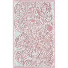 The Rug Market Lacy 71139B Pink White