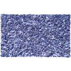 The Rug Market Shaggy 02216A Dark Blue