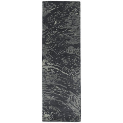Kaleen Rugs Brushstrokes Collection BRS01-38 Charcoal