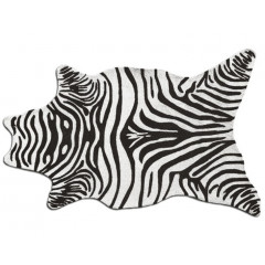 The Rug Market Zebra 25257D Black White