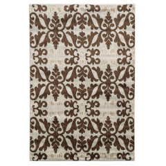 Linon Elegance Collection EE3223 Ivory & Brown