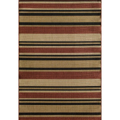 Central Oriental - Tributary Allison Stripe Red
