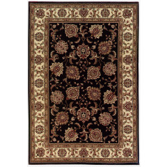 Oriental Weavers Rugs ARIANA A117D3 Brown/ Ivory