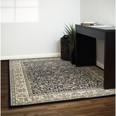 Dynamic Rugs ANCIENT GARDEN AN570783434 Blue/Ivory