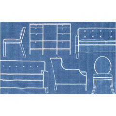 The Rug Market Props 72537D blue