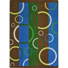Joy Carpet - Under Water Kaleidoscope - Whimsical Area Rugs Earthtone