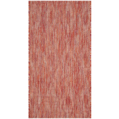 Safavieh - Courtyard CY8522 Red-Red