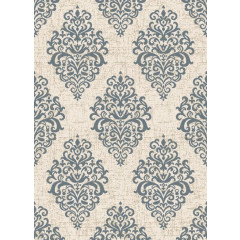 Concord Global - New Casa DAMASK 8855 Ivory