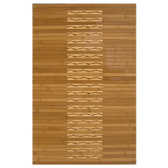 Anji Mountain -  Bamboo Kitchen & Bath Mats Amb0090 Brown