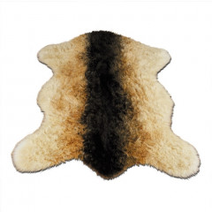 Walk On Me - Shaggy Goat - Faux Fur Brown And White