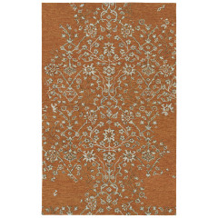 Kaleen Rugs Chaps Collection CHP06-38 Charcoal