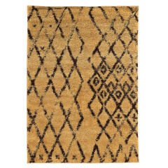 Linon Moroccan RUGMC0235 Camel and Brown