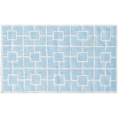 The Rug Market Labyrinth 11519B Blue White