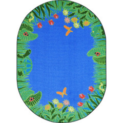 Joy Carpet - Merry Meadows Kid Essentials - Early Childhood Blue
