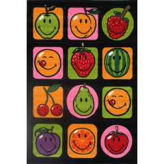 Fun Rugs - Smiley World Sw-18 Multi-Color
