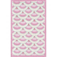 The Rug Market Chi Lin 12390B Pink White Teal