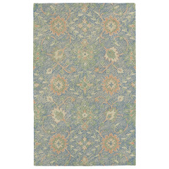 Kaleen Rugs Weathered Collection WTR07-17 Blue