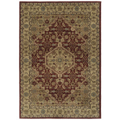 Kaleen Rugs McAlester Collection MCA08-04 Burgundy