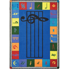 Joy Carpet - Note Worthy (Elementary) Kid Essentials - Music & Special Needs Multi