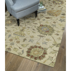 Kaleen Rugs Helena Collection 3202-01 Ivory