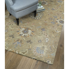 Kaleen Rugs Helena Collection 3207-82 Lt.Brown