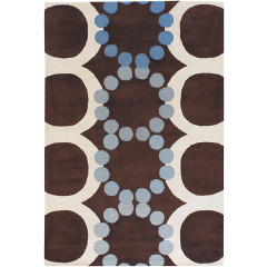 Chandra Avalisa AVL-6111 Brown/White/Blue