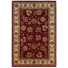 Oriental Weavers Rugs ARIANA A117C3 Red/ Ivory