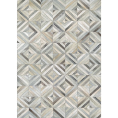 Couristan Rugs CHALET BLOCKS 03959276 IVORY