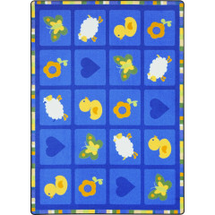 Joy Carpet - Spring Things Kid Essentials - Infants & Toddlers Blue