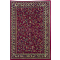Oriental Weavers Rugs ARIANA A113R3 Red/ Ivory