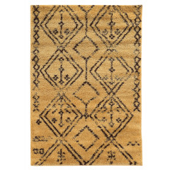 Linon Moroccan RUGMC0535 Camel and Brown