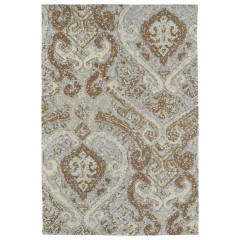 Kaleen Rugs Brushstrokes Collection BRS02-91 Teal