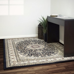 Dynamic Rugs ANCIENT GARDEN AN571193434 Blue/Ivory