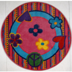 Fun Rugs - Fun Time Shape Fts-180 Multi-Color