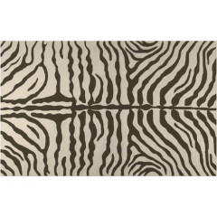 The Rug Market Zebra 25219D Brown Cream