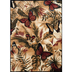 United Weavers Of America - Legends Butterfly Jungle Black