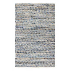 Anji Mountain - Bell Bottom Austin Amb0371 Blue/Gold