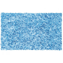 The Rug Market Shaggy 02203B L Blue
