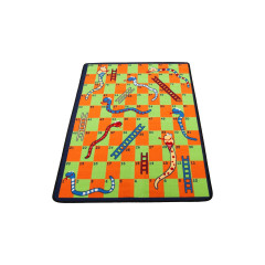Learning Carpet - Play Snakes & Ladders  Multi