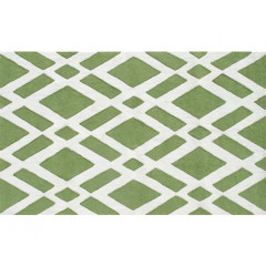 The Rug Market Terrene 25504D Green Cream