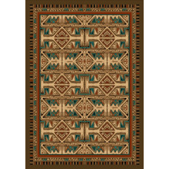 Colorado Carpets - Santa Fe Corral Points West Sunset