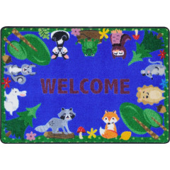 Joy Carpet - Animals Among Us Kid Essentials - Early Childhood Multi