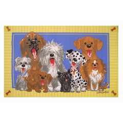Fun Rugs - Wags & Whiskers Ww-03 Multi-Color