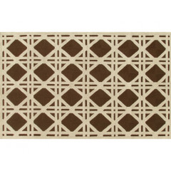 The Rug Market Cane 25206D Brown Ivory