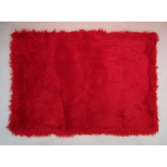 Fun Rugs - Flokati Flk-002 Red