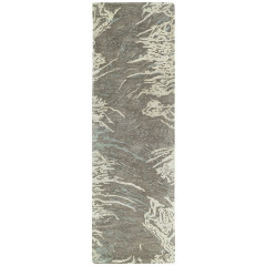Kaleen Rugs Brushstrokes Collection BRS01-49 Brown