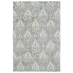 Kaleen Rugs Brushstrokes Collection BRS04-91 Teal