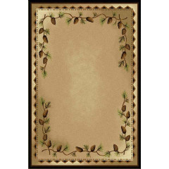 Shadow Mountain - Rustic Fusion Forest Trail Beige