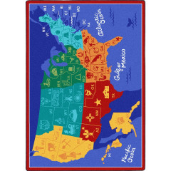 Joy Carpet - States Of The Nation Kid Essentials - Geography & Environment Multi